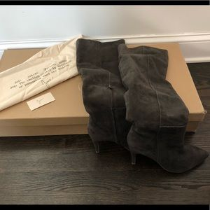 Joie Olivia suede over the knee boots